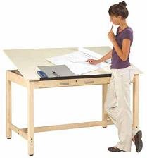 instructor-drafting-table
