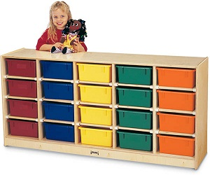4021jc-20-tub-mobile-cubbie-with-color-tubs