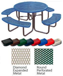 round-picnic-table