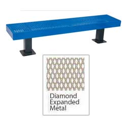 932smv4-4-expanded-metal-backless-mall-bench