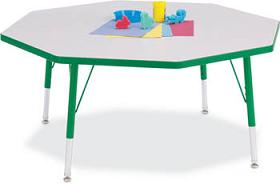 6428jc-48-octagon-pebble-gray-top-rainbow-accents-kydz-table