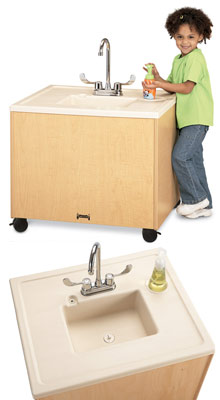 1360jc011-24h-clean-hands-helper-with-plastic-sink