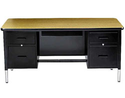 5400-adjustable-teacher-desk--double-pedestal-desk-w-center-drawer-30-x-60