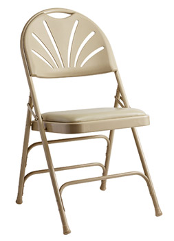 57310-fanback-steel-folding-chair-with-bonded-leather-memory-foam-padded-seat