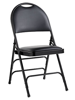 57311-comfort-series-steel-folding-chair-w-memory-foam-padded-bonded-leather-seat-back