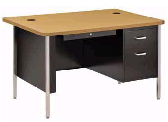 rounded-corner-single-pedestal-desk-sandusky-lee