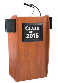 Lectern with Digital Display