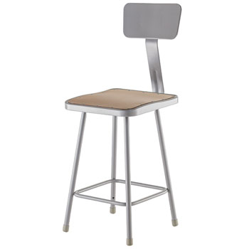 6324b-24h-fixed-height-square-seat-lab-stool-with-backrest