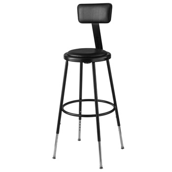 6424hb-10-black-padded-steel-stool-adjustable-25-33-h-w-backrest