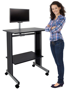 6464-stand-up-workstation-with-flat-screen-mount