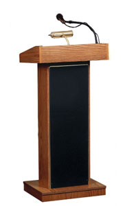 800x-lwm6-non-adjustable-orator-lectern-w-tie-clip-lavalier-wireless-mic