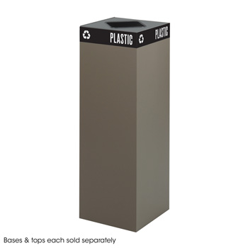 2984br-42-gallon-heavy-gauge-brown-steel-metal-trash-receptacle