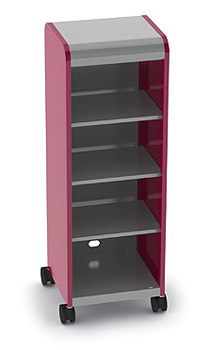 30611-cascade-series-fourshelf-mobile-storage-w-out-doors-21-w-x-19-d