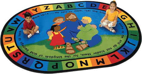 72007-jesus-loves-the-little-children-rug-78-x-1010-oval