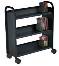 21092-booktruck-with-3-slant-shelves