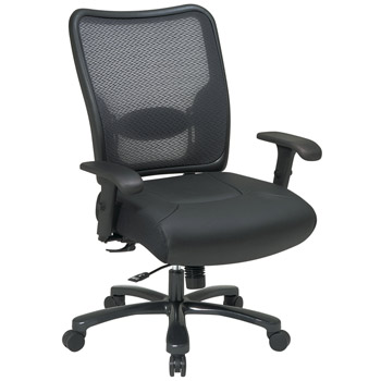7547a773-double-air-grid-back-leather-seat-ergonomic-chair