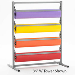 t369r48-bulman-four-deck-paper-storage-tower-48-w