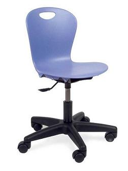 Virco Zuma Computer Classroom Chair Youth (Grade K 4)