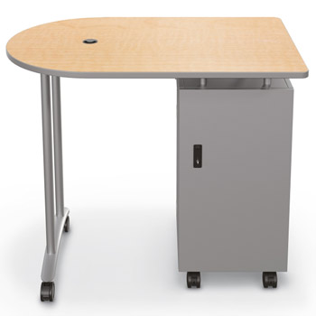 9117x-mobile-teacher-standing-height-workstation