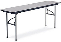 virco folding seminar table 24 x 72 602472 training tables and seminar tables. Black Bedroom Furniture Sets. Home Design Ideas