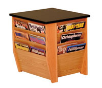 dm1bg-black-granite-top-end-table-with-magazine-rack-on-3-sides