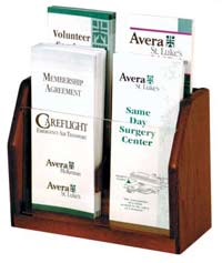 lh4-4-pocket-brochure-countertop-literature-rack