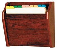 ch141-1-pocket-angled-oak-wall-chart-holder