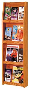 ld4912-oak-literature-display-49-h-x-15-w