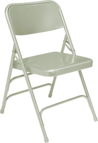 302-gray-18-gauge-steel-double-hinge-triple-braced-folding-chair