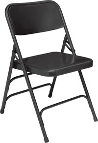 310-black-18-gauge-steel-double-hinge-triple-braced-folding-chair