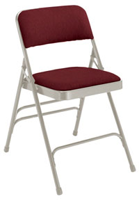 All Fabric Folding Chair Triple Braced 2300 By National