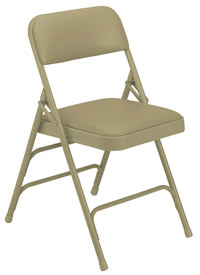 1301-beige-vinyl-beige-frame-18-gauge-steel-padded-folding-chair-with-double-hinge-triple-braces