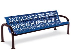 965-fb4-4-contour-outdoor-bench-with-back-fiesta-pattern