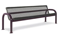 965-v6-6-contour-outdoor-bench-with-back-diamond-pattern