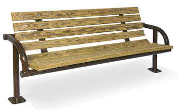 pressure-treated-single-post-contour-outdoor-bench-by-ultraplay