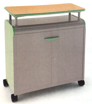30514-cascade-series-threeshelf-mobile-presentation-cart-w-doors-4258-w-x-19-d