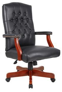 b915-traditional-button-tufted-chair