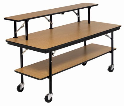 bf308dp-mobile-utility-table-w-shelf-30w-x-96l