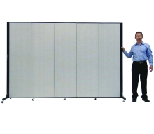 bfsl685-65-h-x-95l-5-panel-freestanding-simplex-partition