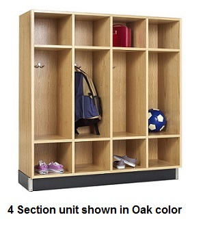 bp-4815k-wood-backpack-locker-4-sections