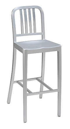 Charmant Br5210 Aluminum Restaurant Bar Stool