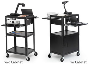 adjustable-multimedia-cart