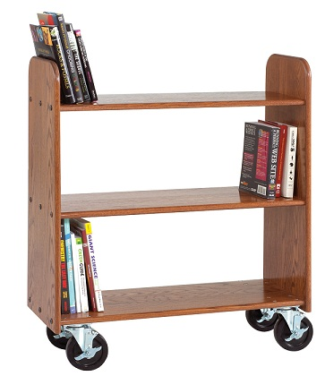 bt211-solid-oak-book-truck-3-flat-shelves-40-12-h