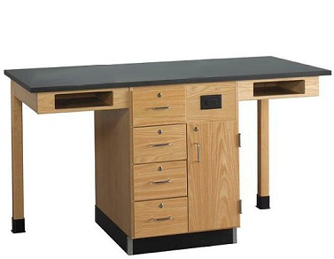 c2514kf-single-face-service-island-w-out-sink-doordrawer-combo-2-student