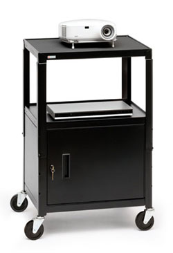ca2642e-universal-projection-cart-w-cabinet-and-electrical-unit