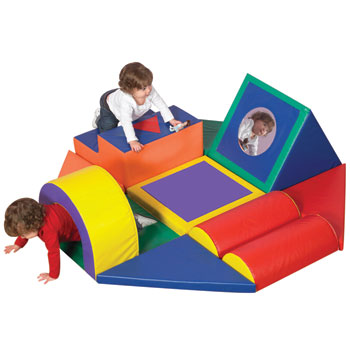 Childrens Factory Shape And Play Obstacle Course Cf322