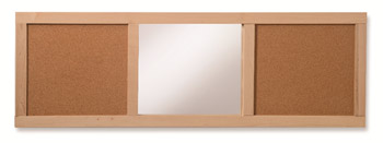 ch4107-corkboard-and-mirror-wall-panel