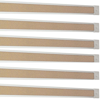 523k-6-each-10-sections-2-aluminum-map-rail-wtan-cork-insert