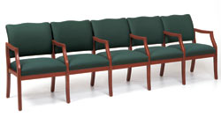 d5853k5-franklin-5-seats-center-arms-healthcare-vinyl