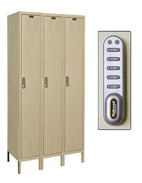 uel3288-1-digitech-single-tier-3-wide-lockers-w-electronic-lock-unassembled-12-w-x-18-d-x-72-h